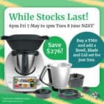 Current Thermomix offer shown as a flier