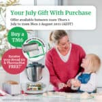 Marketing image of Thermomix gift with purchase offer