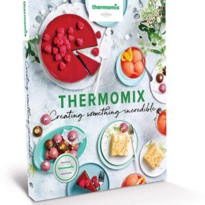 Cover Creating Something Incredible cookbook Thermomix